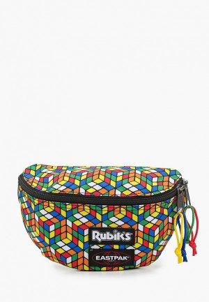 Сумка поясная Eastpak x Rubiks. Цвет: разноцветный