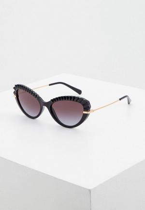 Очки солнцезащитные Dolce&Gabbana DG6133 501/8G. Цвет: черный