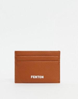 Коричневая кредитница -Коричневый цвет Fenton