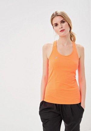 Майка спортивная Forward. Цвет: оранжевый