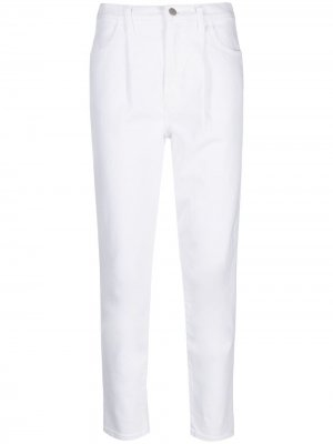 Укороченные брюки Arkin кроя слим J Brand. Цвет: белый