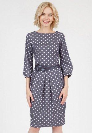 Платье Olivegrey DAYAN. Цвет: фиолетовый
