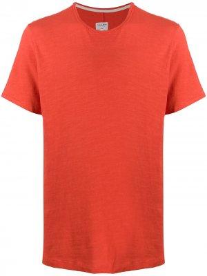 Футболка с круглым вырезом Rag & Bone. Цвет: оранжевый