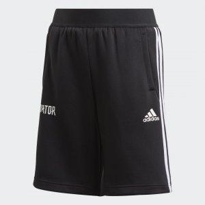 Шорты Predator 3-Stripes Performance adidas. Цвет: черный