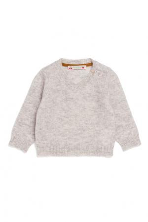 Пуловер кремовый кашемировый Bonpoint. Цвет: бежевый