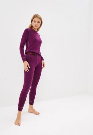 Термобелье Montero Super Wool Protection. Цвет: фиолетовый
