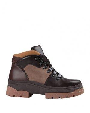 Полусапоги и высокие ботинки SEE BY CHLOÉ. Цвет: темно-коричневый