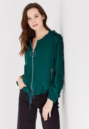 Куртка Mango - FUSILLI. Цвет: зеленый