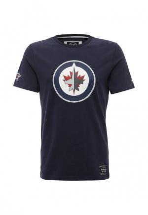 Футболка Atributika & Club™ NHL Winnipeg Jets. Цвет: синий