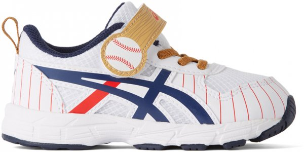 Baby White Contend 6 TS School Yard Sneakers Asics. Цвет: 102 white/peacoat