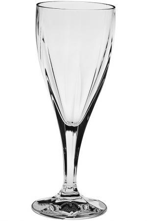 Рюмка для вина 170 мл 6 шт. CRYSTAL BOHEMIA. Цвет: белый