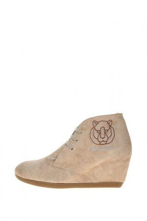 Ботинки Braccialini. Цвет: бежевый