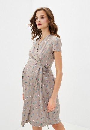Платье Fest. Цвет: коричневый