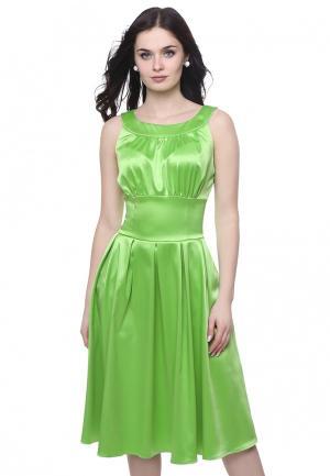 Платье Grey Cat AUDRA. Цвет: зеленый