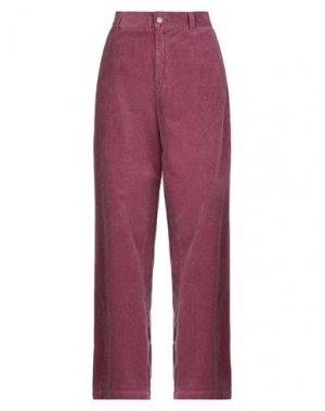 Повседневные брюки CARHARTT. Цвет: розовато-лиловый