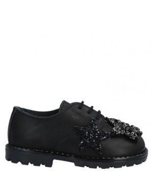 Обувь на шнурках FLORENS LE PICCOLE. Цвет: черный