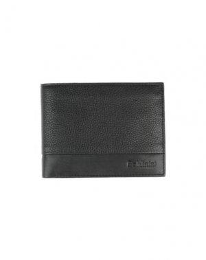 Бумажник BALDININI. Цвет: черный