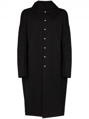 Hooded oversized trench coat Rick Owens. Цвет: черный