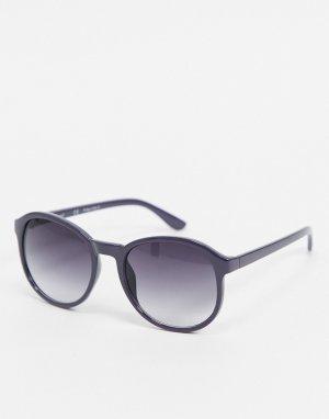 Фиолетовые круглые солнцезащитные очки -Фиолетовый цвет AJ Morgan