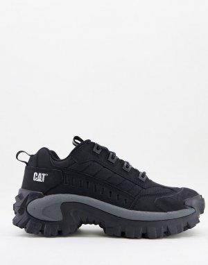 Черные кроссовки на массивной подошве Caterpillar-Черный Cat Footwear