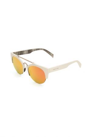 Очки солнцезащитные Italia Independent. Цвет: 001 btt белый, серый металлик