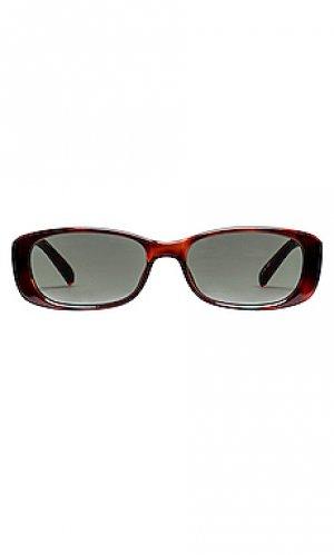 Солнцезащитные очки unreal! Le Specs. Цвет: коричневый