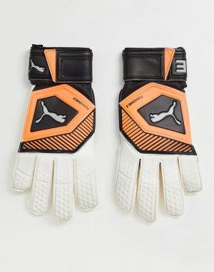 Вратарские перчатки -Белый Puma