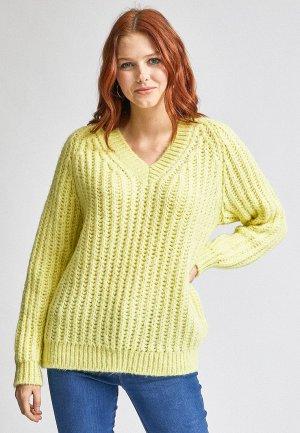 Пуловер Dorothy Perkins. Цвет: зеленый