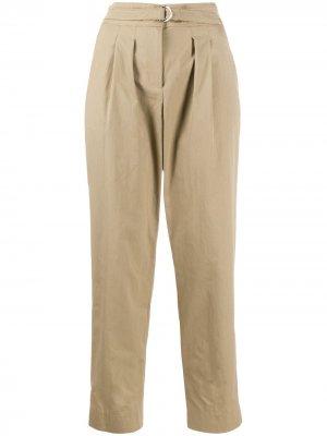 Укороченные брюки с завышенной талией A.P.C.. Цвет: нейтральные цвета
