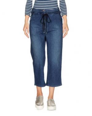 Джинсовые брюки-капри RACHEL COMEY. Цвет: синий