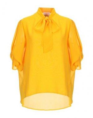 Блузка ANNARITA N TWENTY 4H. Цвет: охра