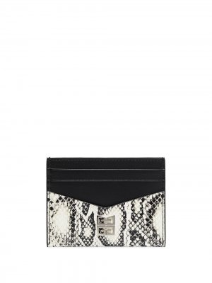 Картхолдер с узором Givenchy. Цвет: черный