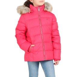 Куртка KG0KG04682 розово-красный TOMMY HILFIGER