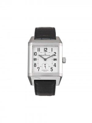 Наручные часы Reverso Squadro pre-owned 35 мм 2007-го года Jaeger-LeCoultre. Цвет: серебристый