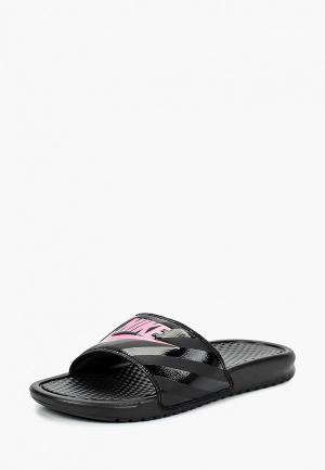 Сланцы Nike Womens Benassi Just Do It. Sandal. Цвет: черный