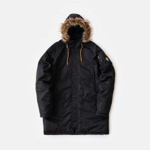 Куртка Alaska Parka Footwork. Цвет: черный