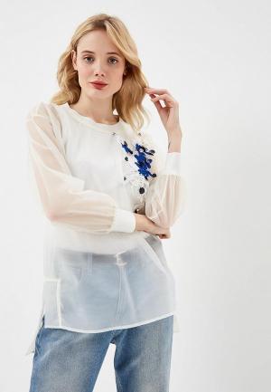 Блуза Twinset Milano. Цвет: белый