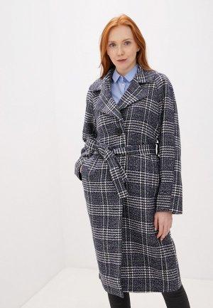 Пальто Tom Farr. Цвет: синий