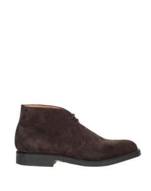 Полусапоги и высокие ботинки FABI. Цвет: темно-коричневый