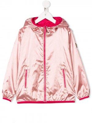 Двухцветное пальто Ciesse Piumini Junior. Цвет: розовый