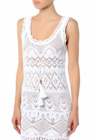 Платье Emilio Pucci. Цвет: белый