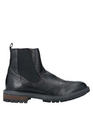 Полусапоги и высокие ботинки MFW COLLECTION. Цвет: черный