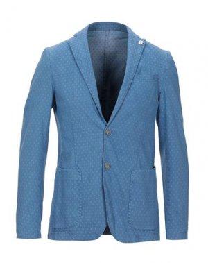 Пиджак HAMAKI-HO. Цвет: грифельно-синий