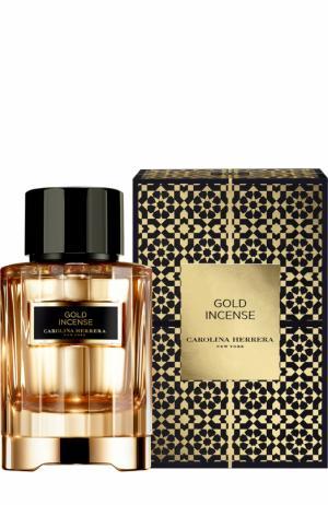Парфюмерная вода Confidential Gold Incense Carolina Herrera. Цвет: бесцветный
