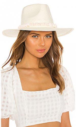 Шляпа lani ale by alessandra. Цвет: белый