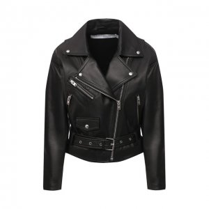 Кожаная куртка Iro. Цвет: чёрный