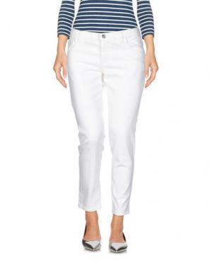 Джинсовые брюки REDValentino. Цвет: белый