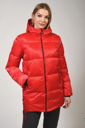 Куртка EA7. Цвет: красный