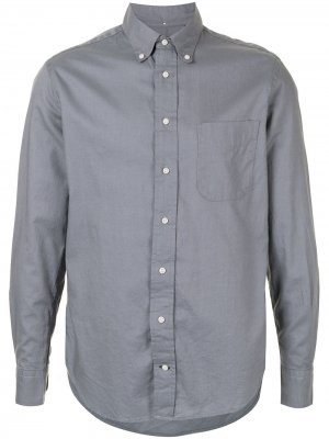 Рубашка Kashmyl Gitman Vintage. Цвет: серый