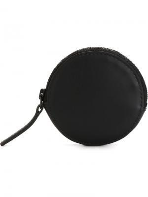 Кошелек для монет и наушников Troubadour. Цвет: чёрный